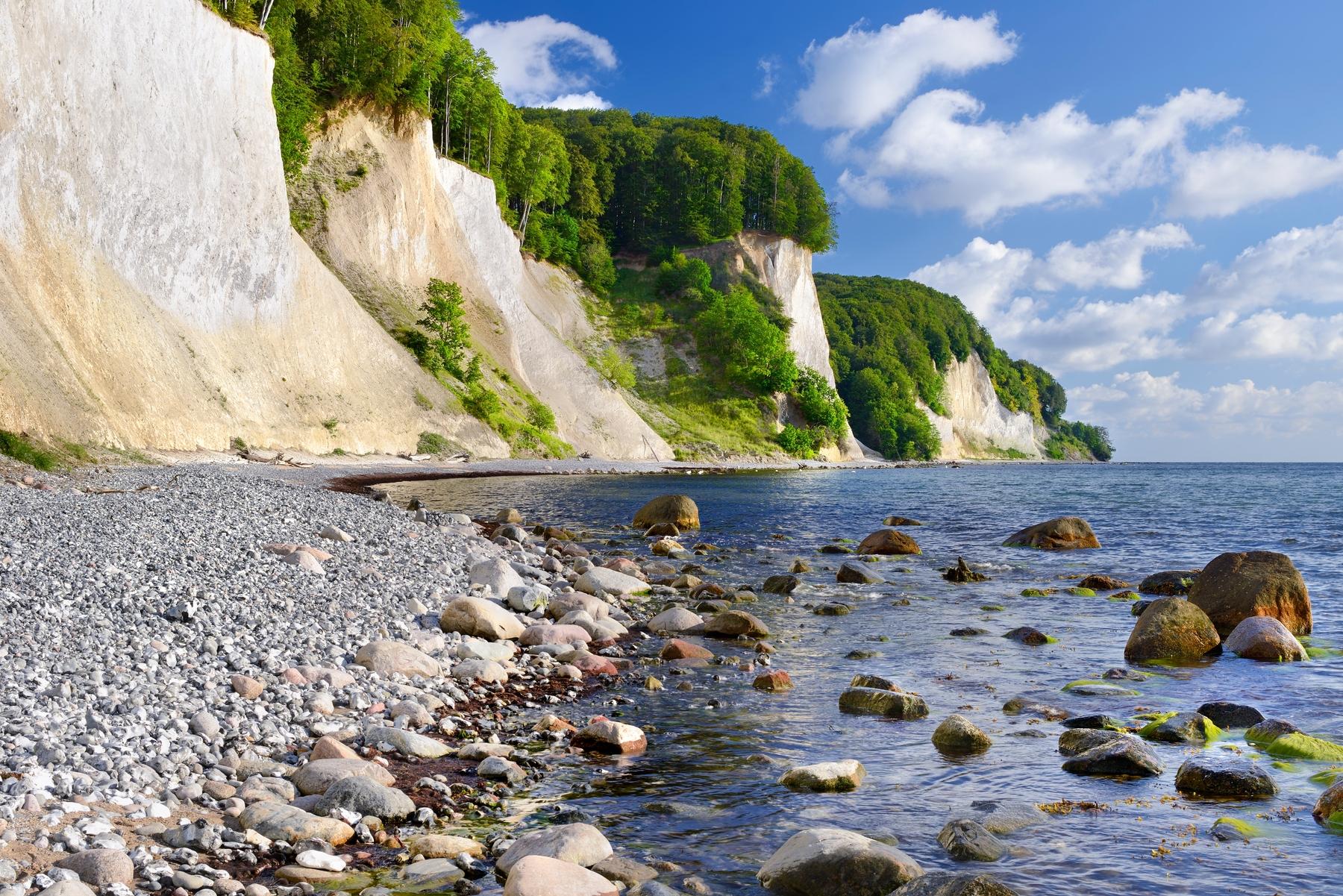 Natuur in Duitsland: Nationaal Park Jasmund, Mecklenburg-Vorpommern