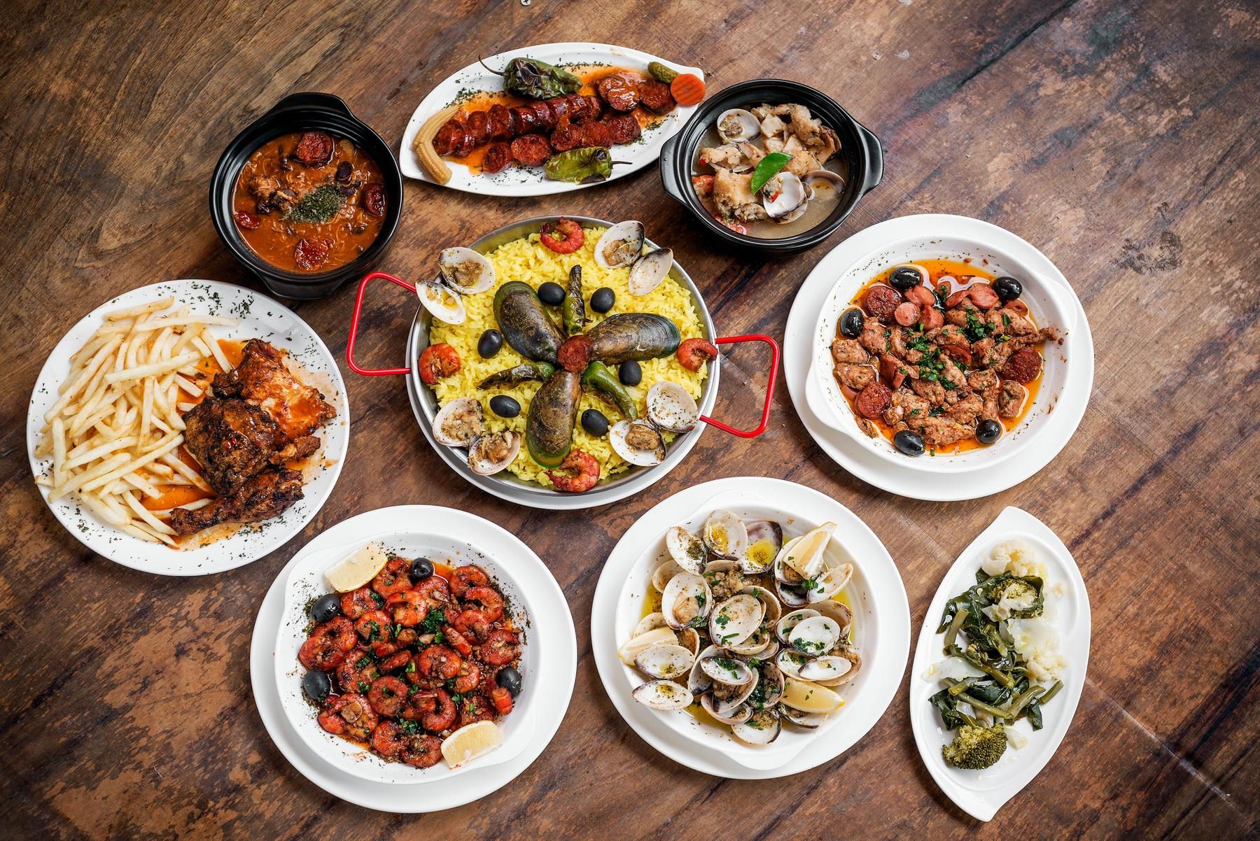 Portugalskie jedzenie to atut sam w sobie