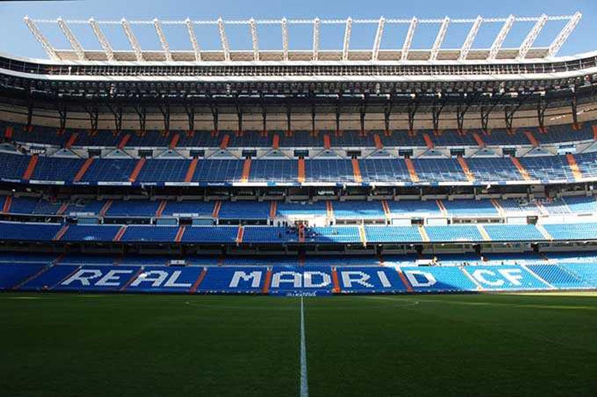 Το στάδιο Santiago Bernabéu, έδρα της Ρεάλ Μαδρίτης - ταξίδι στη Μαδρίτη