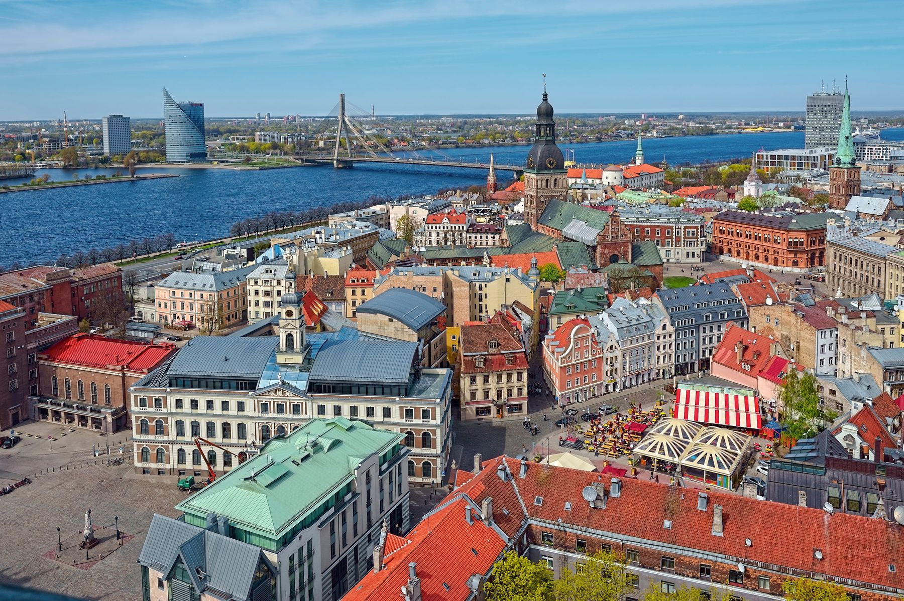 city centre in riga latvia. Riga is one of those underrated places in Europe to visit.