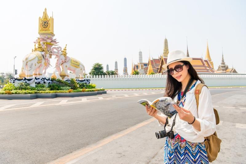 海外旅行 女性 タイ