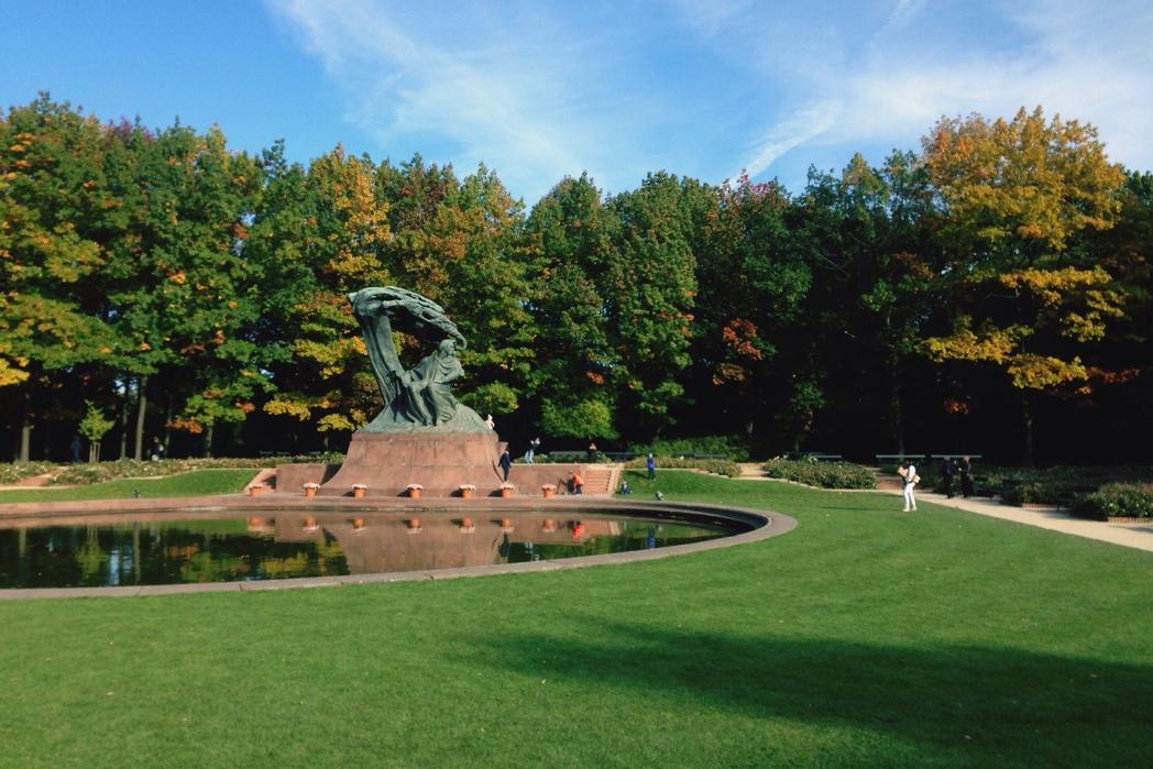 Το πάρκο Łazienki, απ' τα ομορφότερα αξιοθέατα της Βαρσοβίας