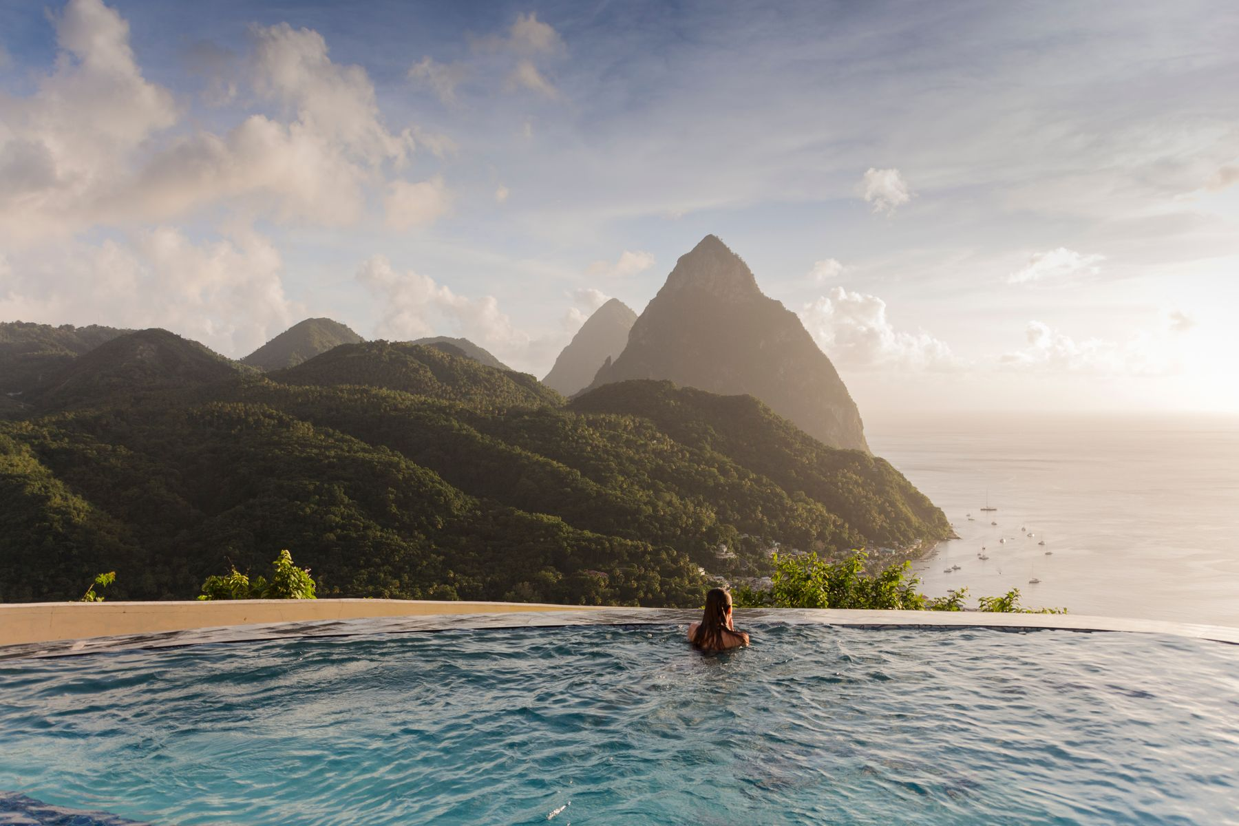 Get hot in October on a mountain hike in St Lucia