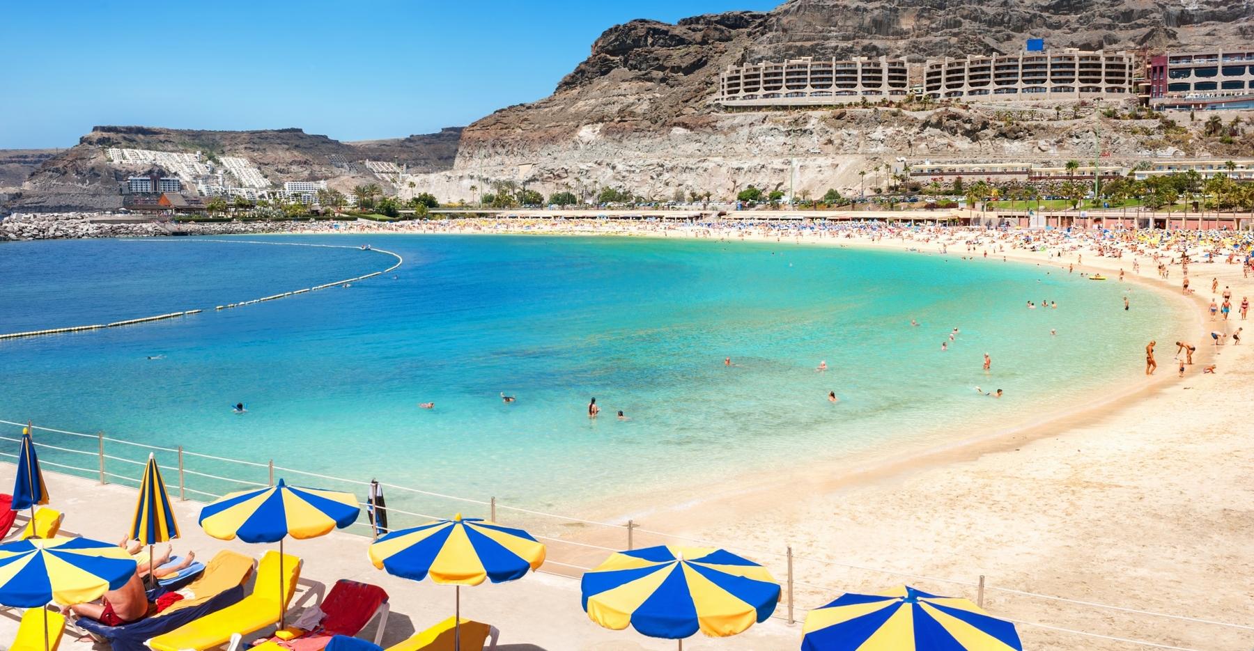 Spiagge gran Canaria: Playa de Amadores Gran Canaria