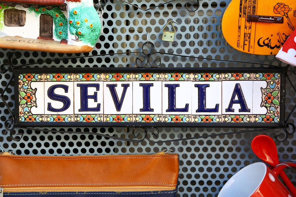 Souvenirs from Seville, Spain