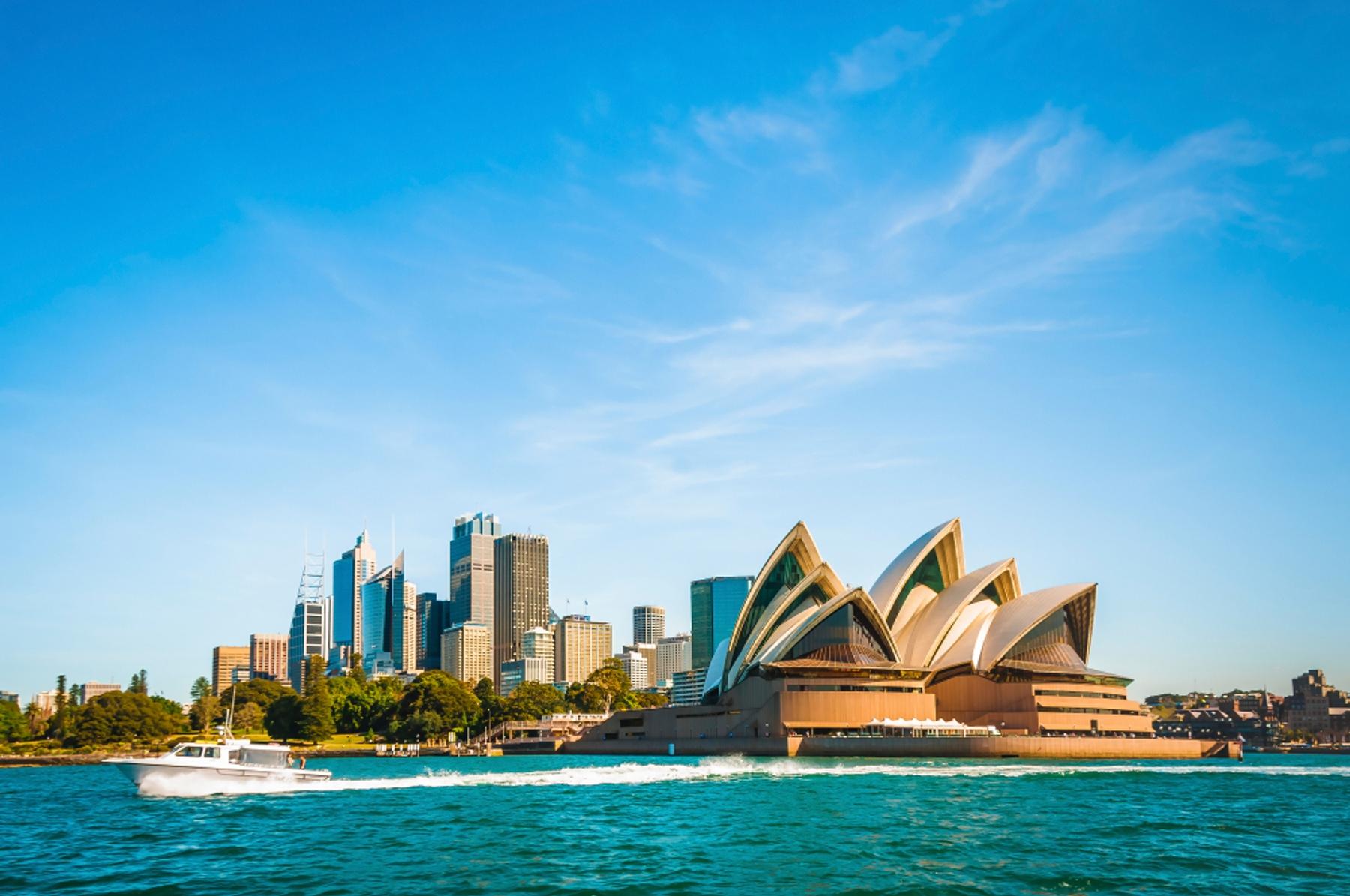 オーストラリア・シドニーのオペラハウス