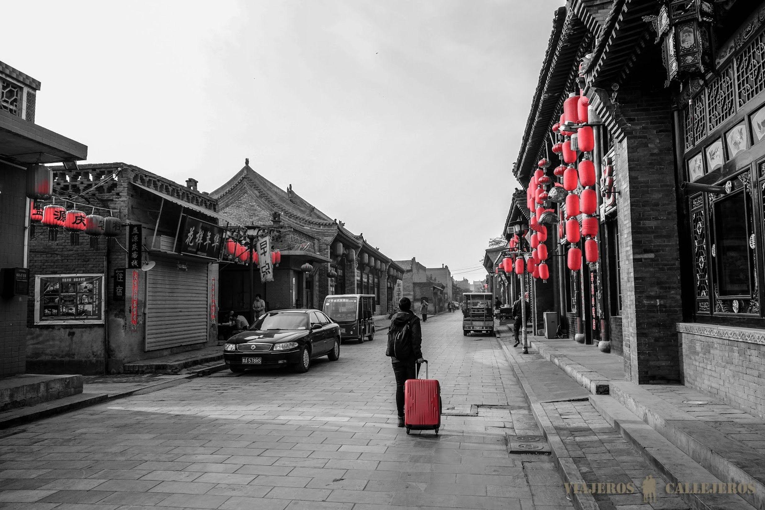 foto de viajeros callejeros