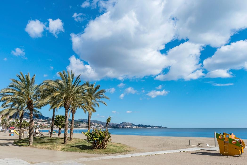 Beach in Malaga - Visit Malaga in 2019
