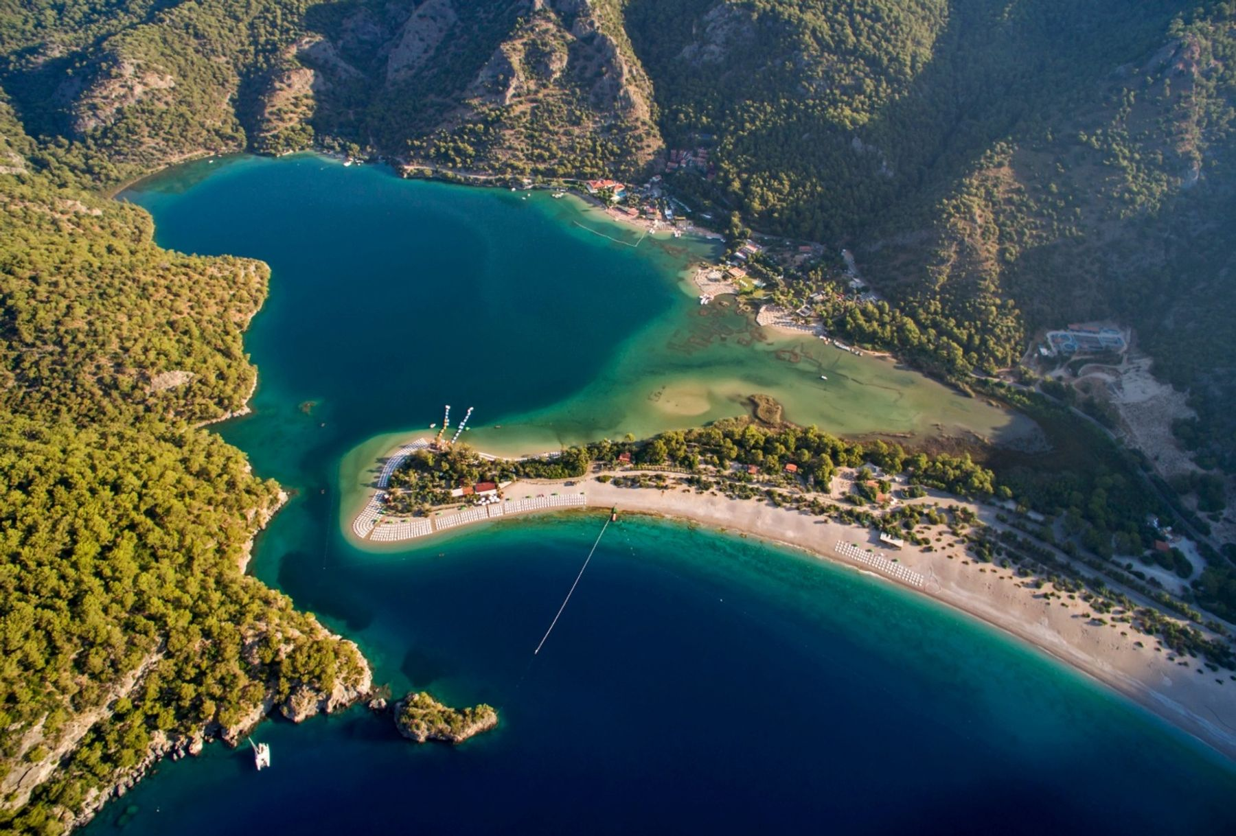 Oludeniz in Turkey is one of the most stunning beaches in the world