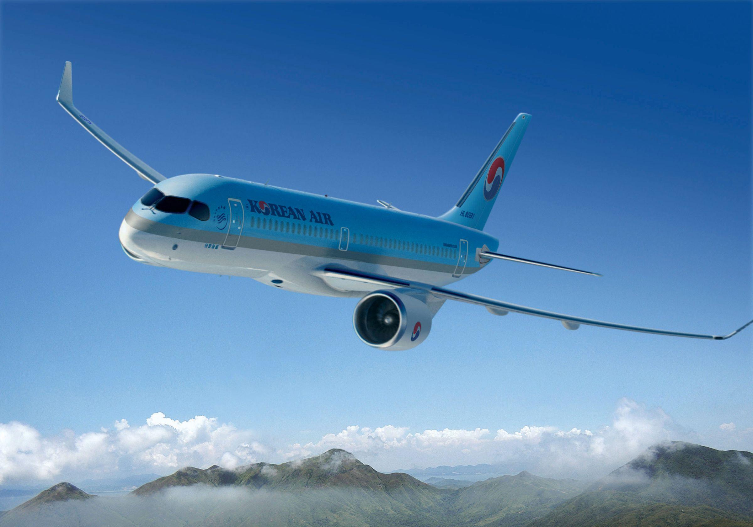 大韓航空 Korean Air  A220