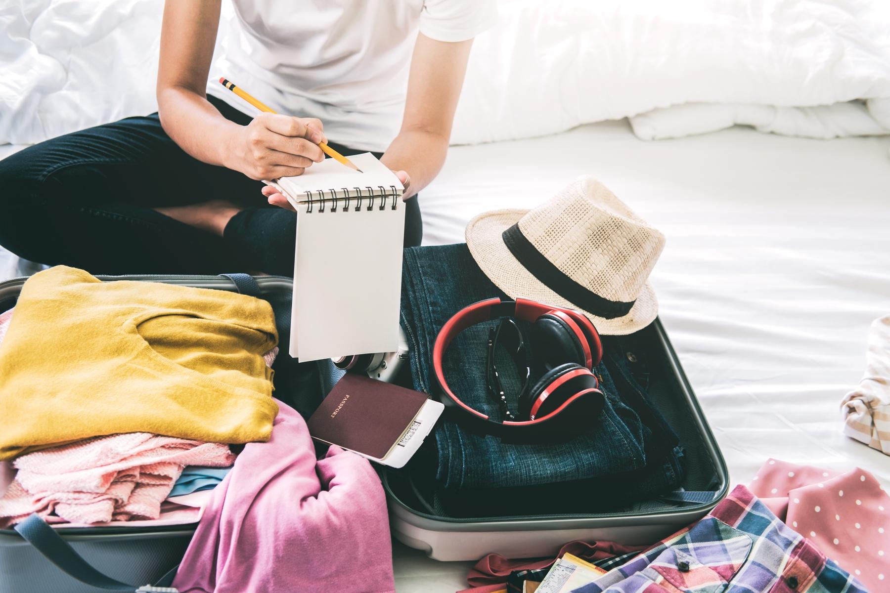 Packen muss gut bedacht sein