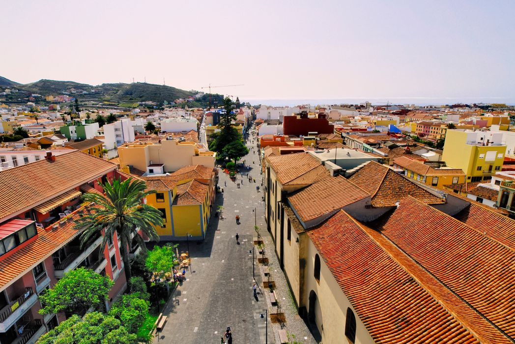 The view from the la Laguna Cathedral, one of the best things to do in Tenerife, Spain