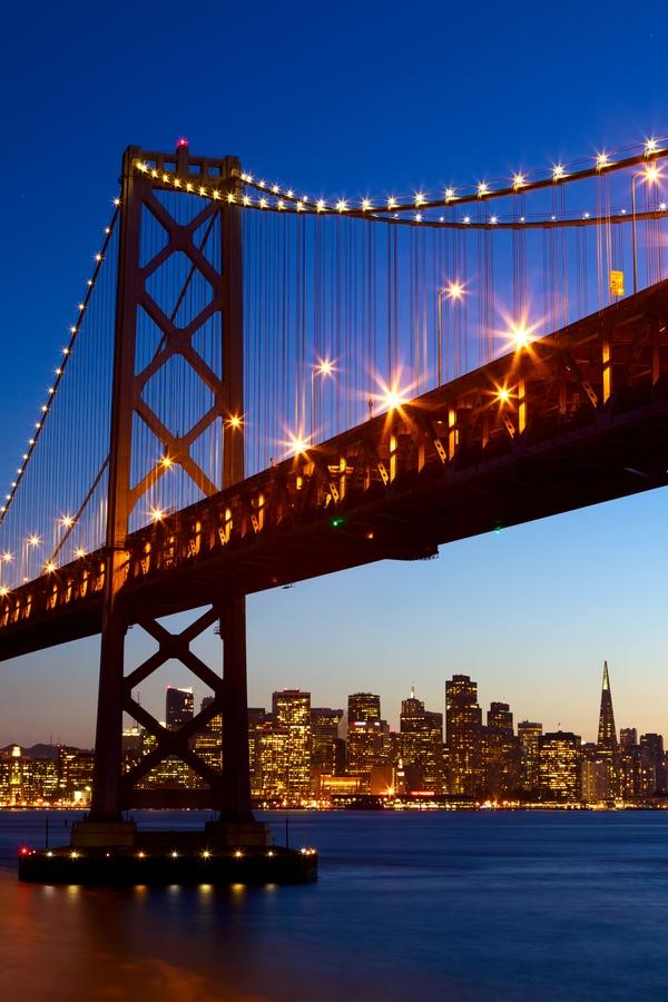 Die beliebtesten Städte der USA: San Francisco, Kalifornien