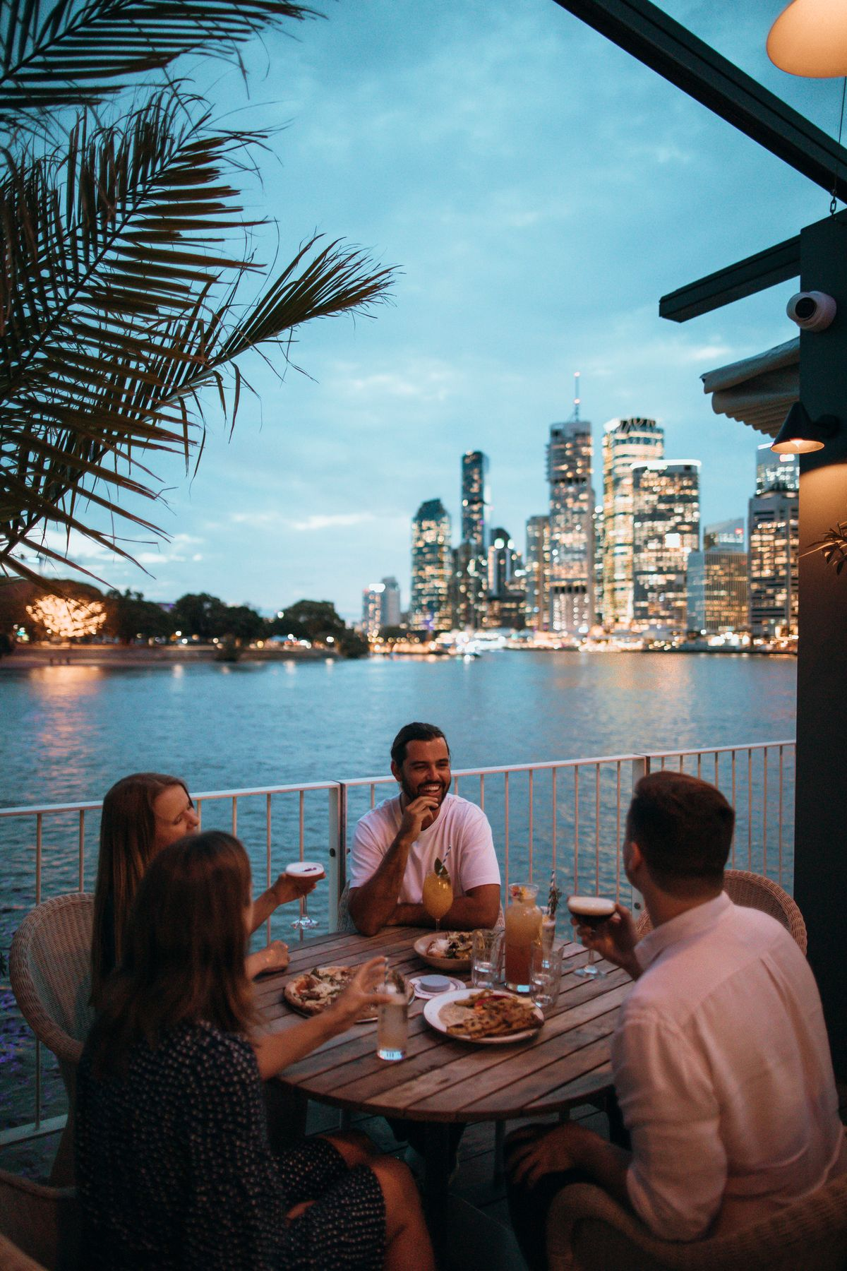 Enjoy a short break in Queensland and dine at the Howard Smith Wharves