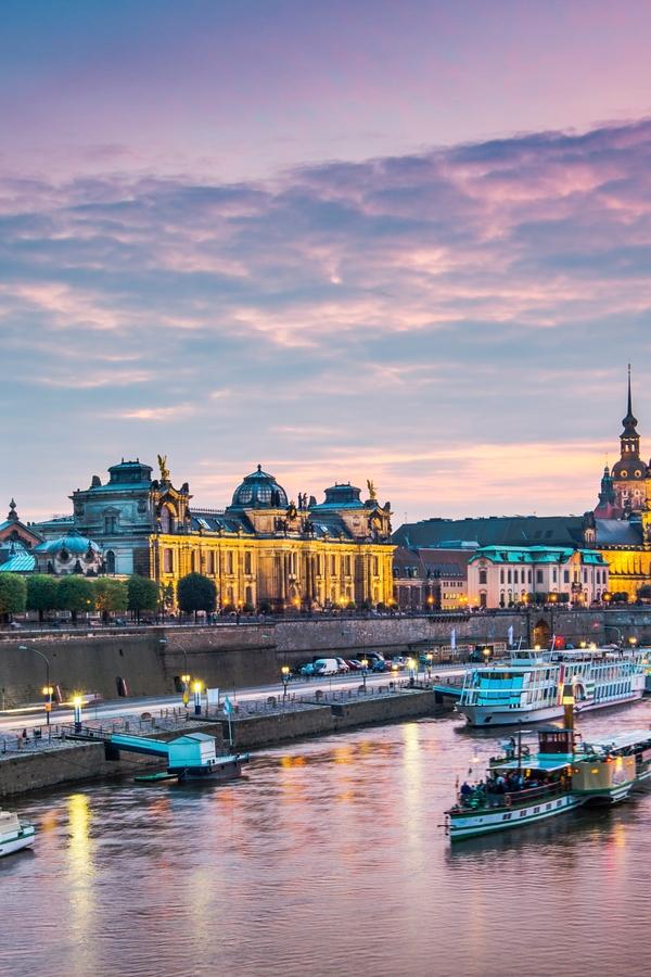 Die schönsten Sehenswürdigkeiten in Dresden: Brühlsche Terrasse