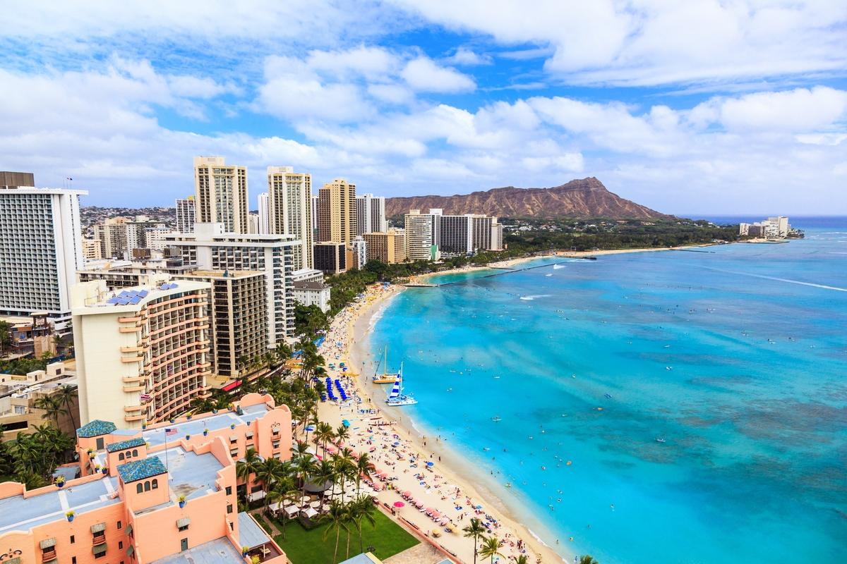 ハワイ ワイキキ ビーチ