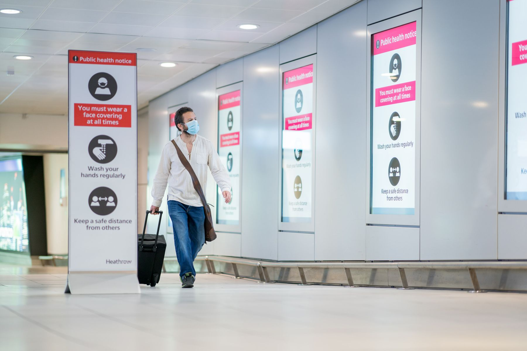 Путешествие во время коронавируса. Аэропорт Хитроу, Лондон