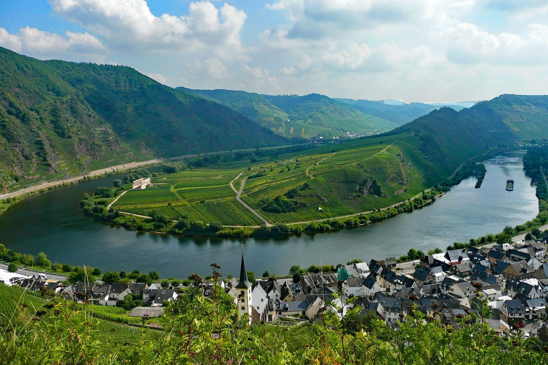 Bremm Rijnland-Pfalz Duitsland