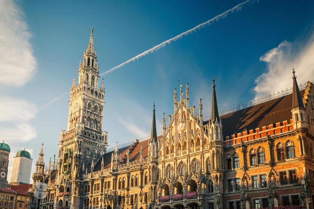 Marienplatz in Munich, Germany - best St. Patrick's Day parades around the world