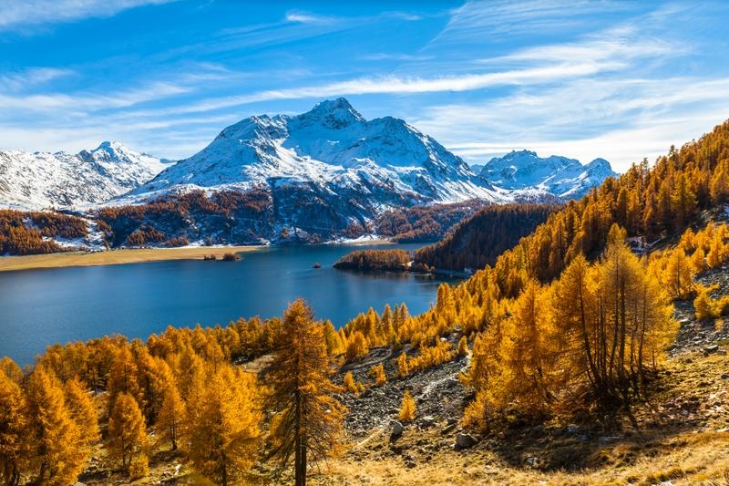 Glücklich Schweiz