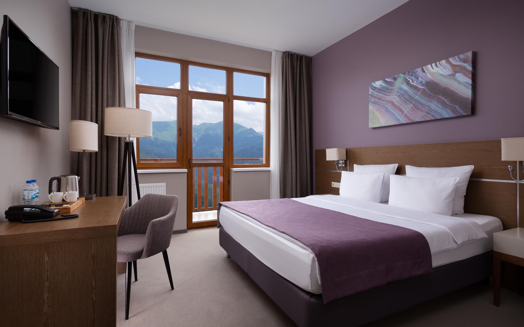 В горном отеле Green Flow вы отдохнете и избавитесь от стресса