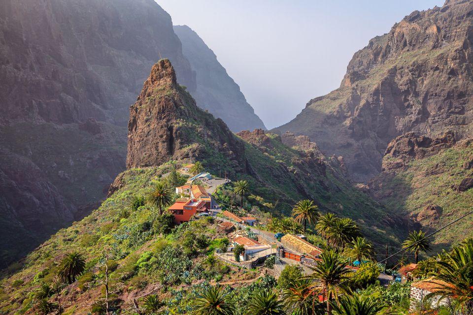 valle de güimar en Tenerife islas canarias