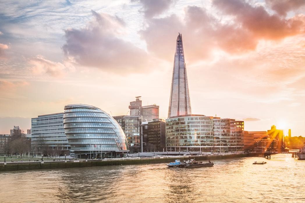 Ο ουρανοξύστης Σαρντ στο Λονδίνο είναι το ψηλότερο κτίριο στην Ευρώπη