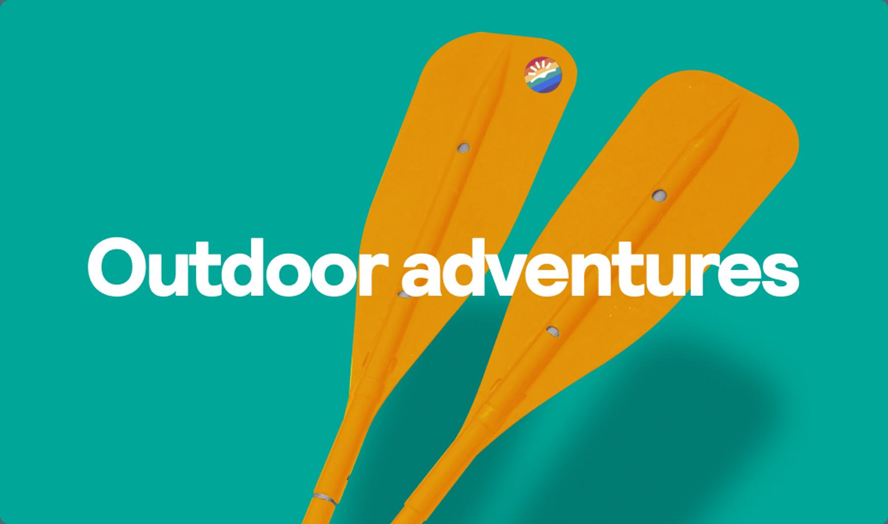 Outdoor adventures graphic