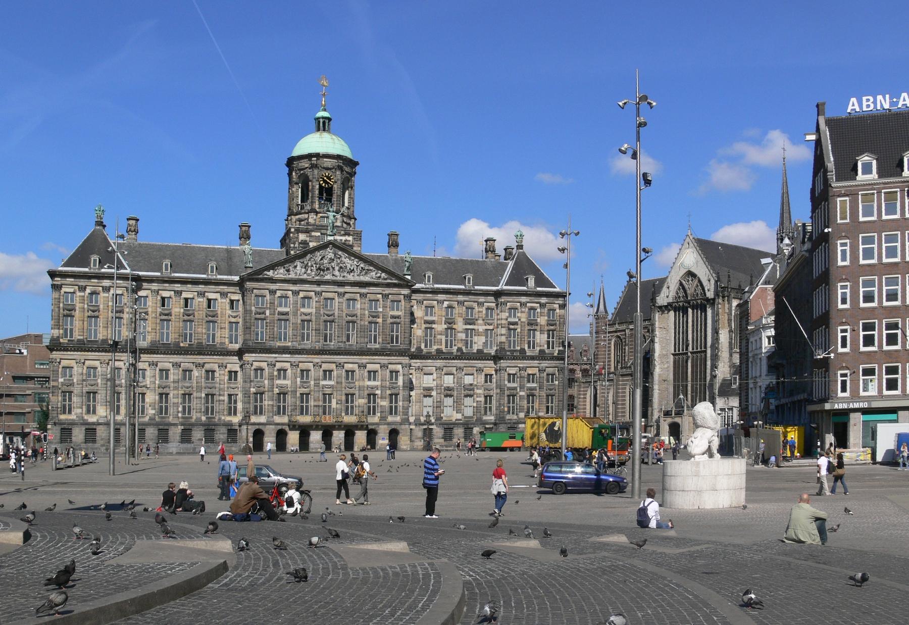 The Royal Palace in Amsterdam - אמסטרדם
