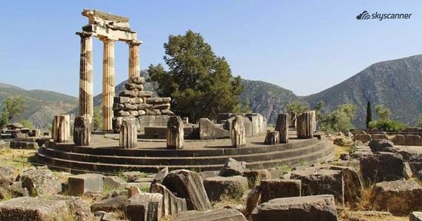 O αρχαιολογικός χώρος των Δελφών
