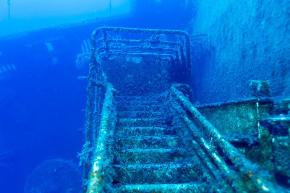 Ναυάγιο κάτω απ' τη θάλασσα