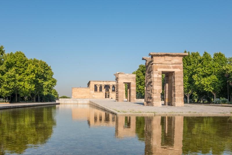 Best things to do in Madrid: Templo de Debod