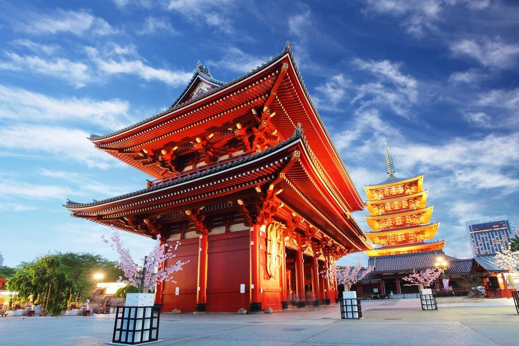 Ο πιο παλιός ναός του Τόκιο Σένσο-τζι