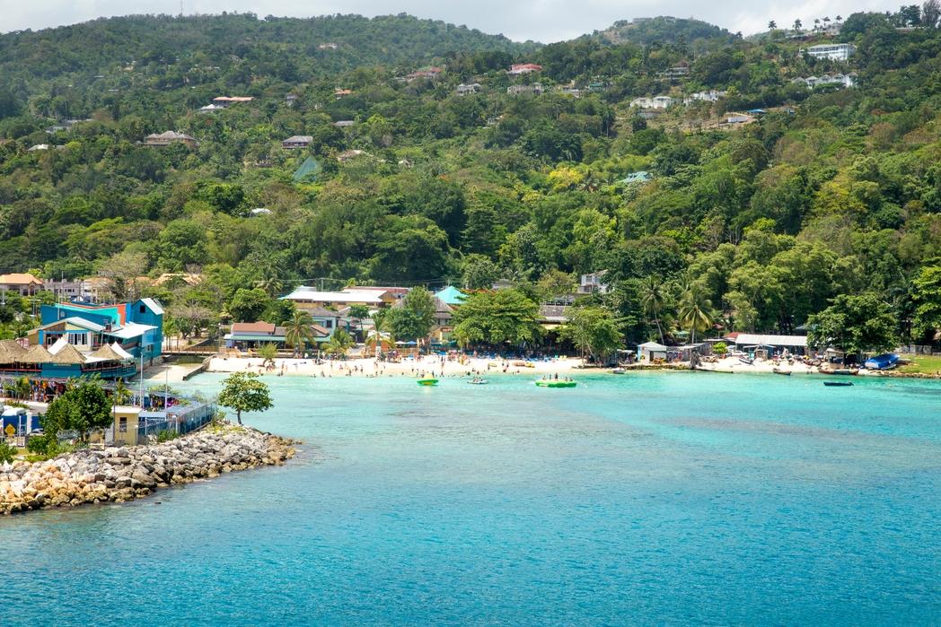 Paysage de la Jamaïque