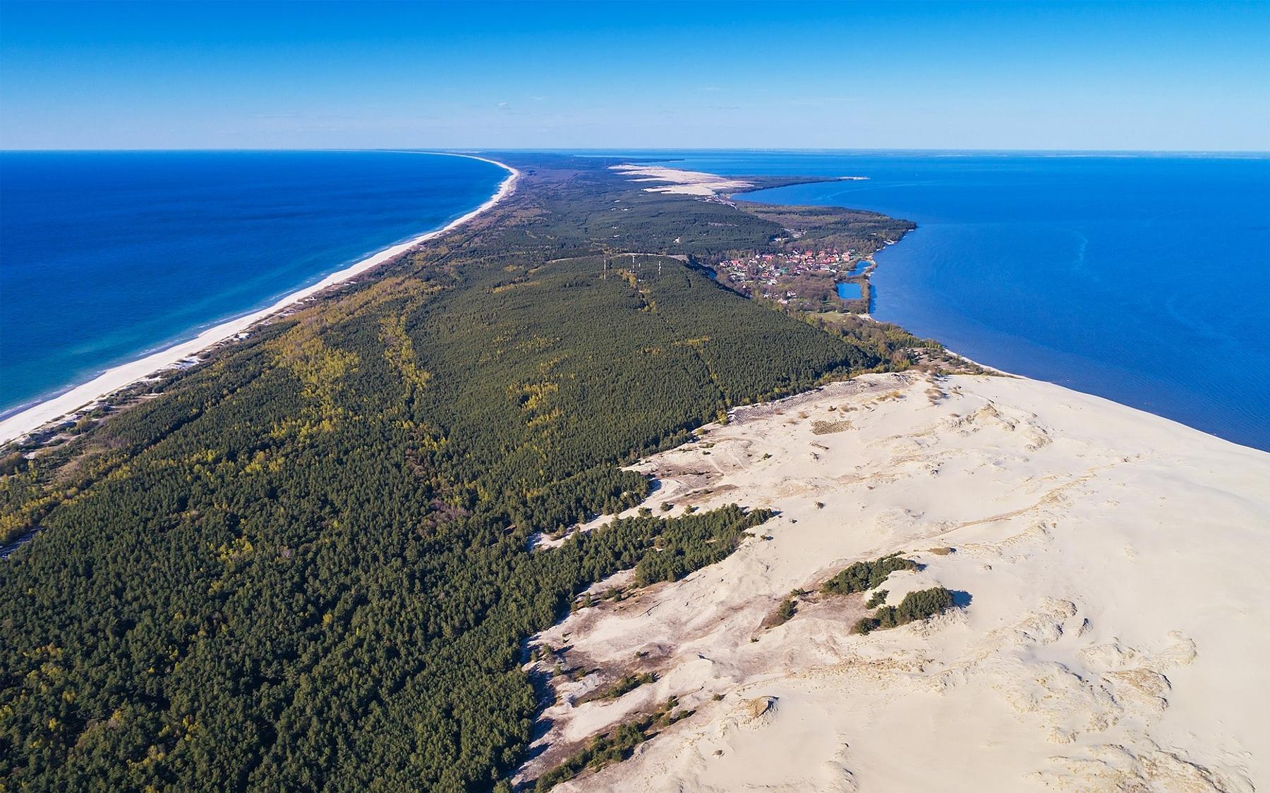Лучшие минеральные курорты в России около Куршской косы