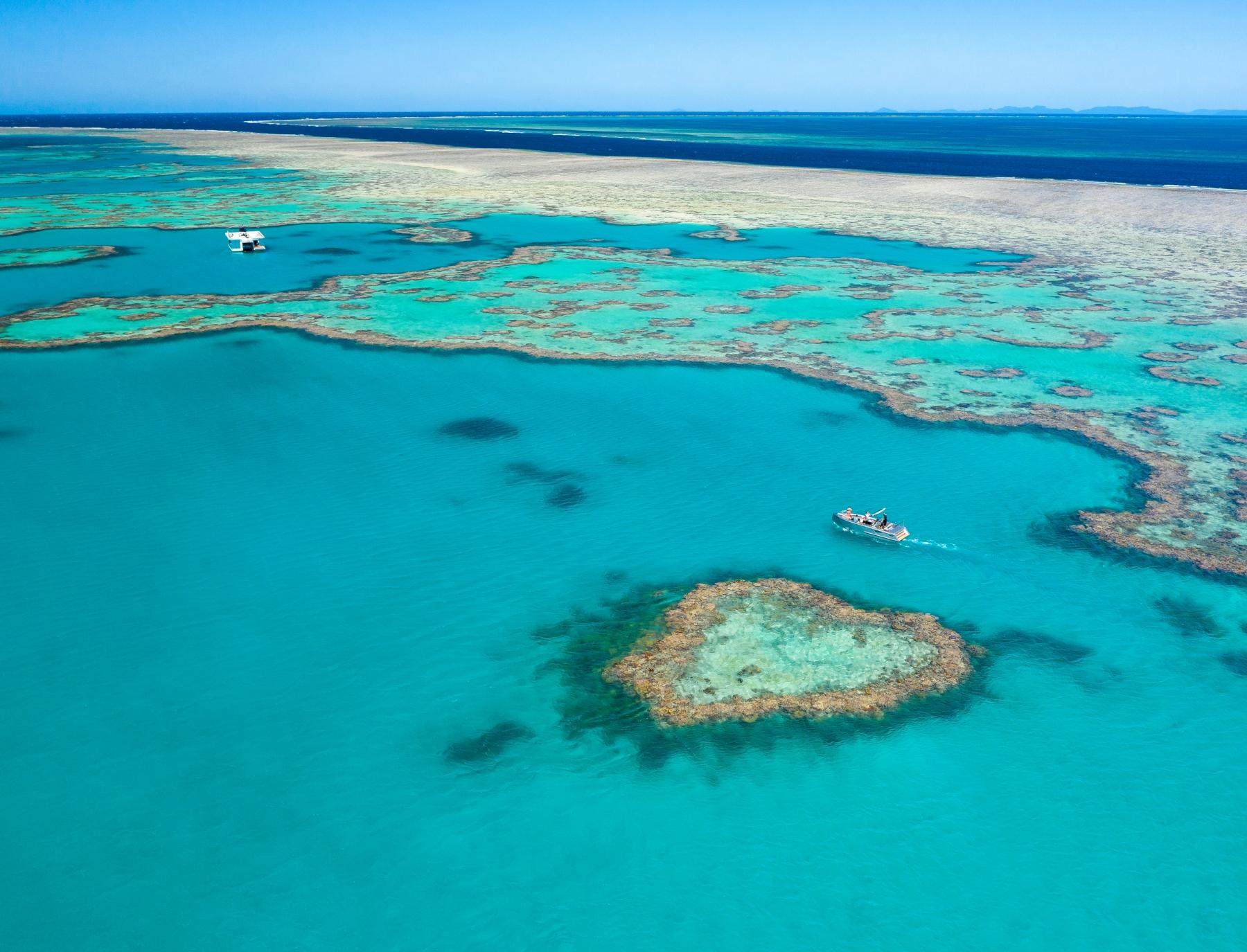 See Heart Reef on short breaks to Queensland