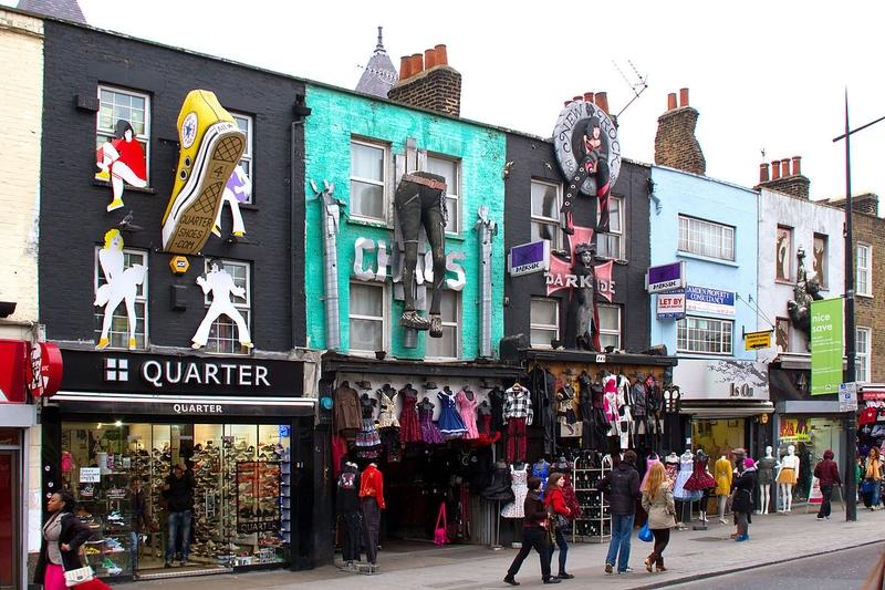 marché Camden dehors à Londres