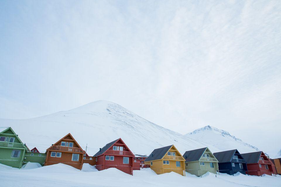 Самые яркие города мира: Лонгйир, Норвегия