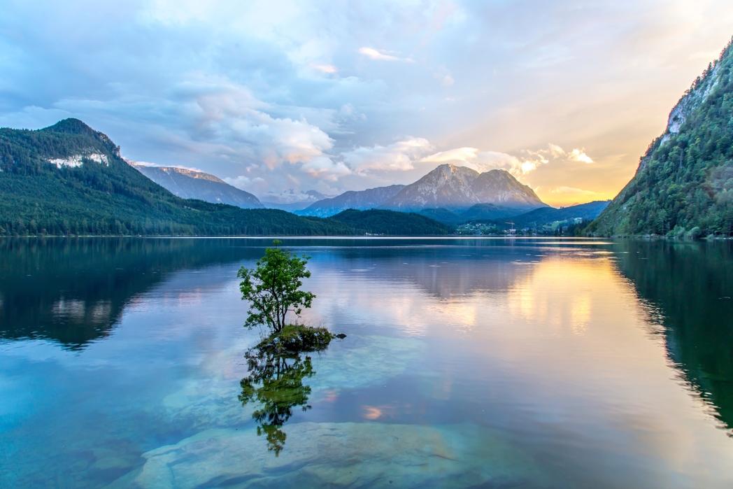 Salzburg'da göl ve dağlar - tek başına seyahat için Kurban Bayramı tatili opsiyonları