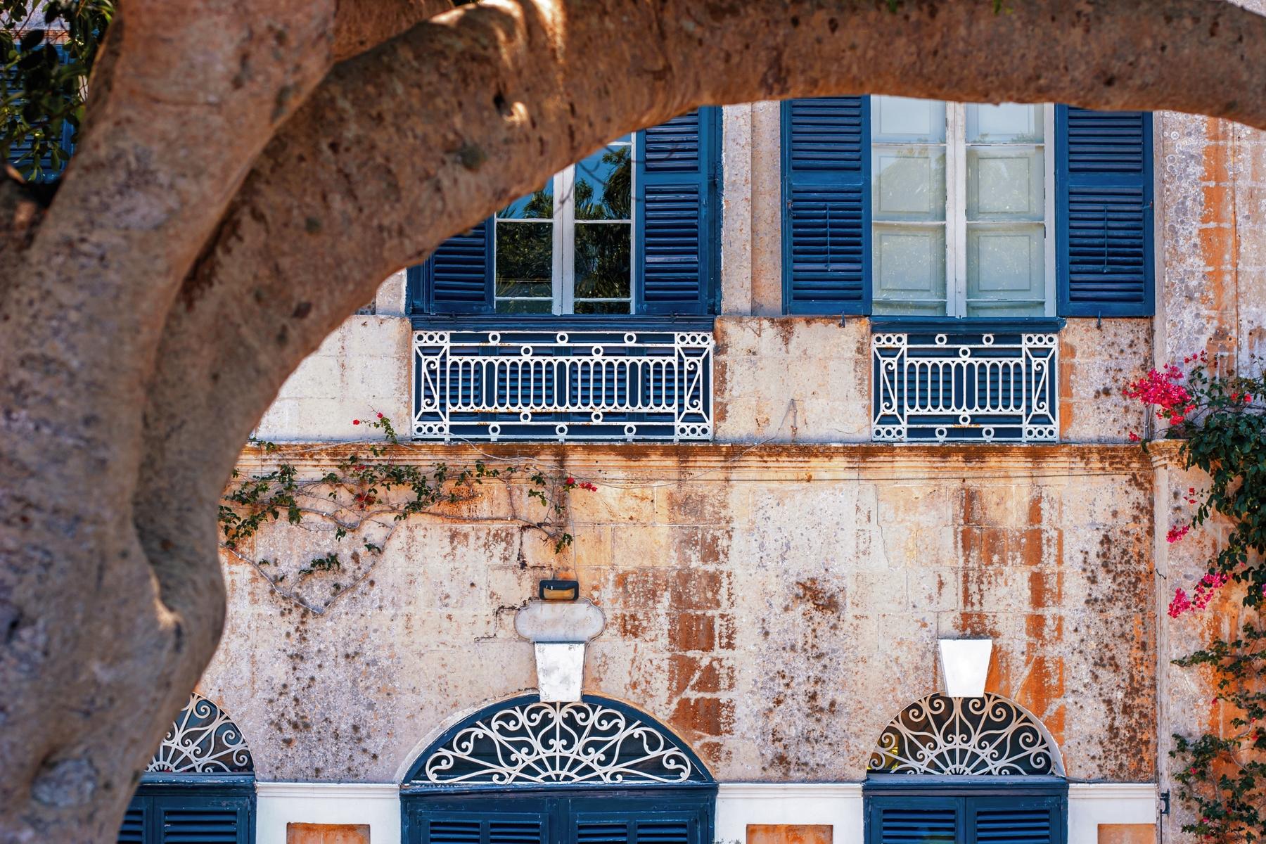 Old city walls in Malta
