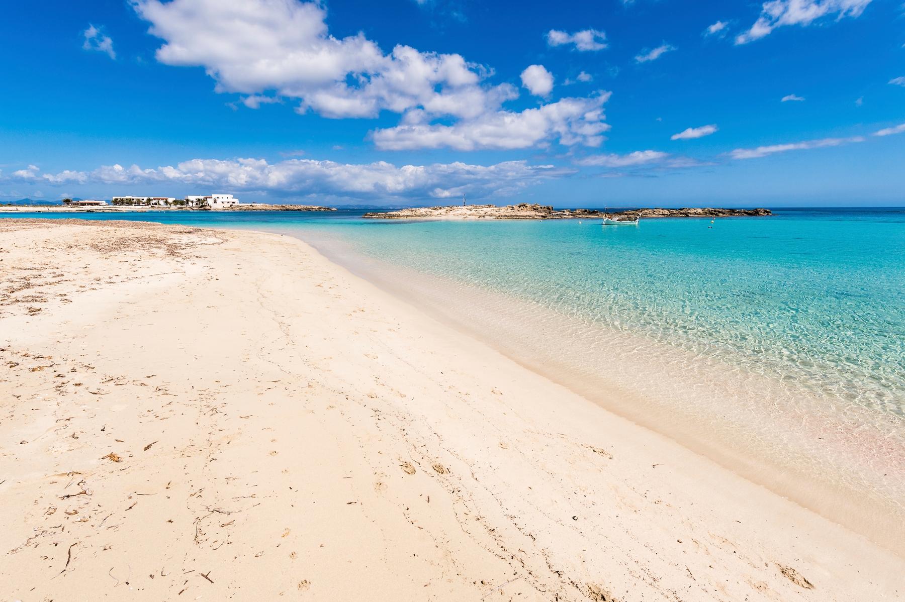 Spiagge Formentera: Cala Saona