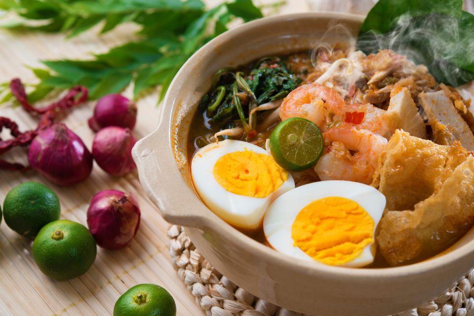 Laksa curry - world foodie trip