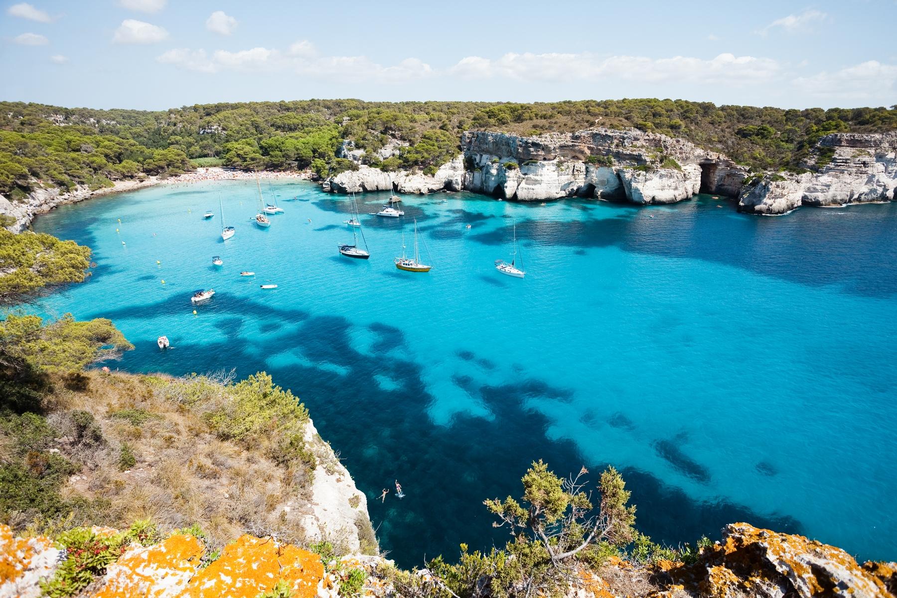 Spiagge Formentera: Caló d'es Morts