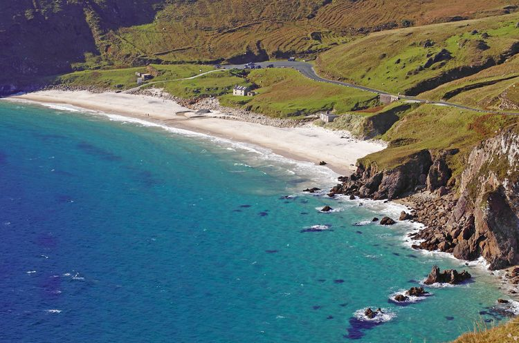 Keem Bay, Achill Island, Co. Mayo - 10 of the best beaches in Ireland