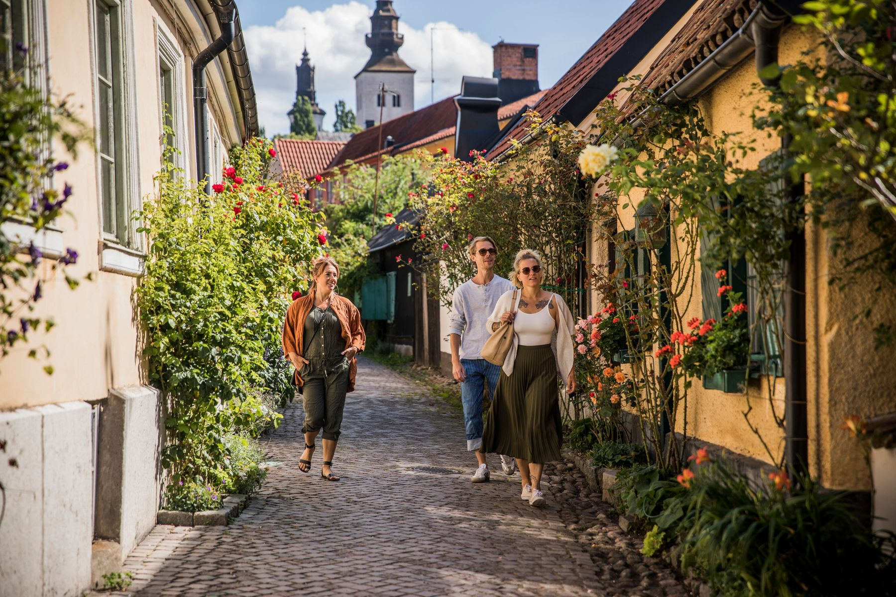 Walking in Visby