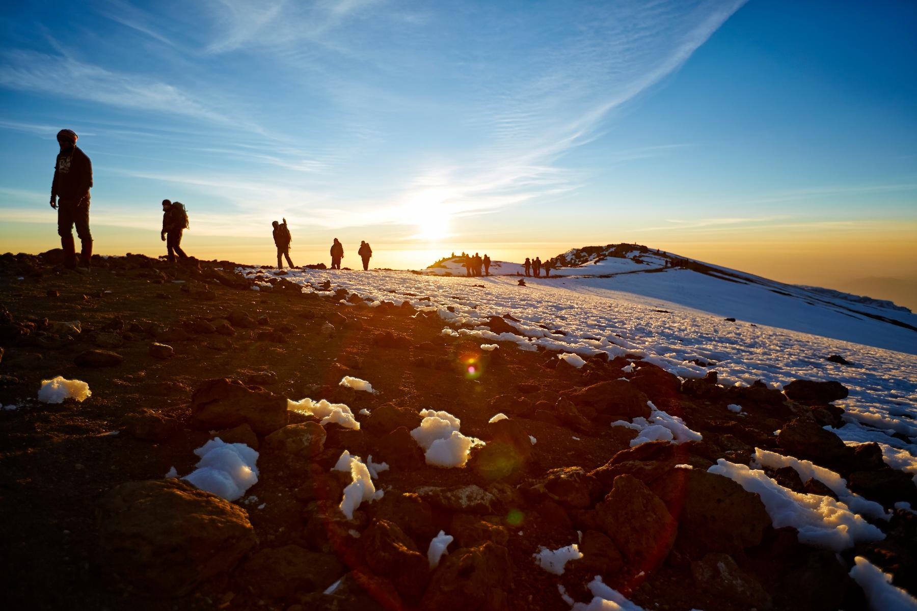 Wandern auf dem Kilimanjaro