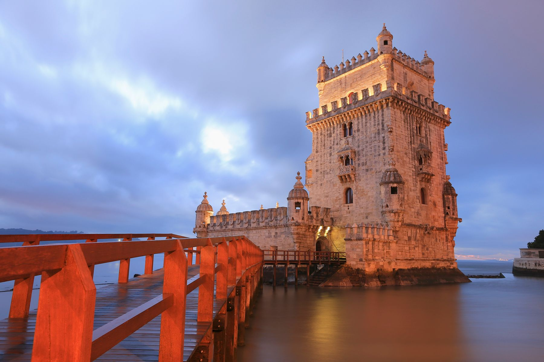Torre de Belém, em Lisboa, Portugal.