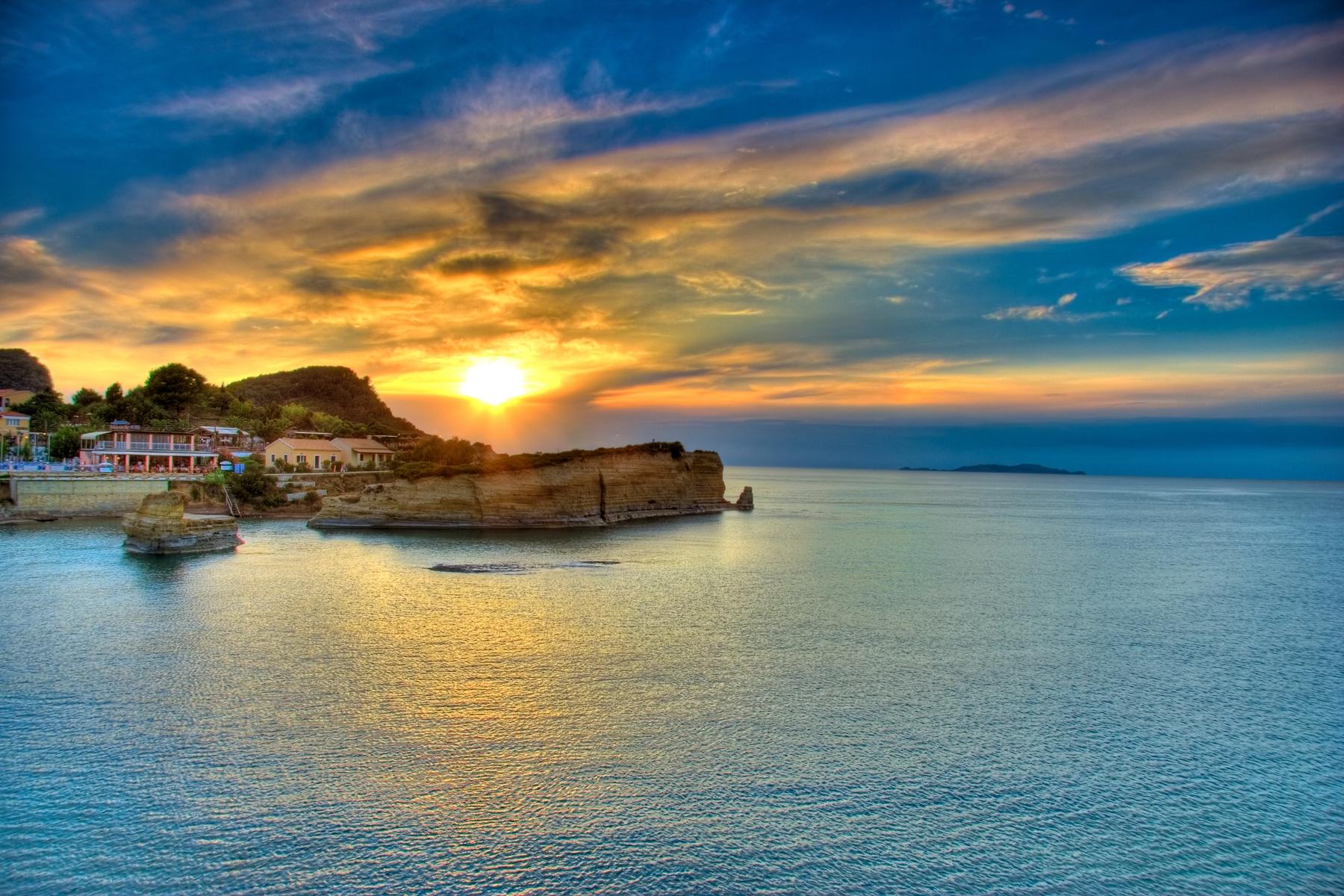 Korfu im Oktober