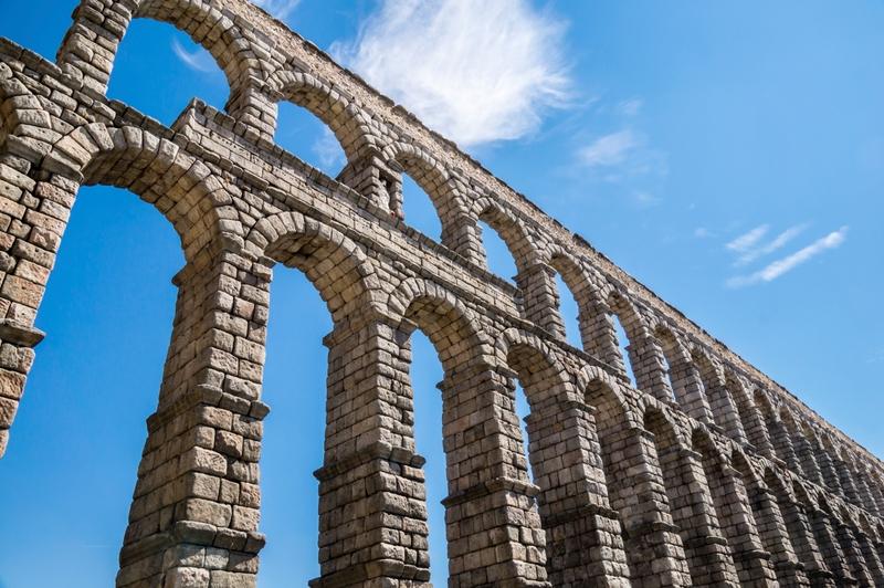 Segovia panorama Castilla y León