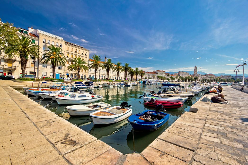 Relax on the Riva - best things to do in Split